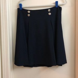 Limited nautical navy skirt